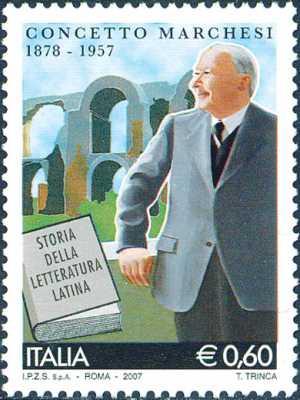Cinquantenario della morte di Concetto Marchesi - latinista, scrittore e politico