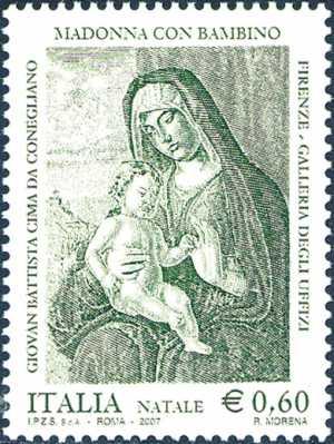 Natale -«Madonna con Bambino» di G. B. Cima da Conegliano
