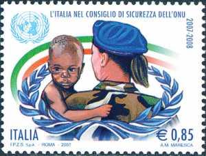 Elezione dell'Italia a membro permanente del Consiglio di Sicurezza delle Nazioni Unite