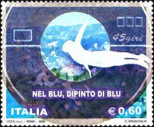 Cinquantenario della canzone «Nel blu dipinto di blu» di Domenico Modugno