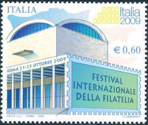 Festival internazionale della filatelia «Italia 2009» - Roma  - Palazzo dei Congrassi
