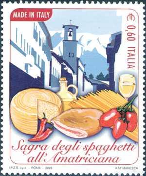«Made in Italy» - Sagra degli spaghetti all'Amatriciana