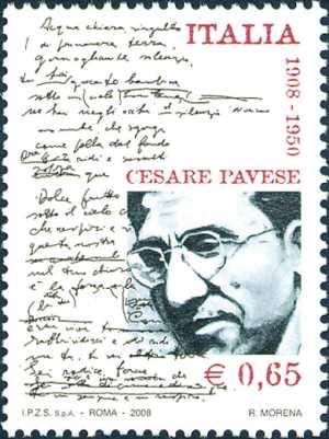 Centenario della nascita di Cesare Pavese - scrittore
