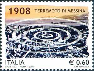 In ricordo del terremoto di Messina del 1908