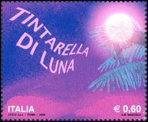 Francobollo celebrativo della canzone «Tintarella di Luna»
