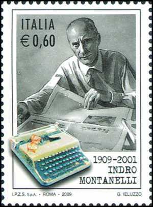 Centenario della nascita di Indro Montanelli - giornalista e scrittore