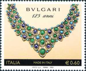 «Made in Italy» - 125° Anniversario della fondazione di Bulgari  - collier
