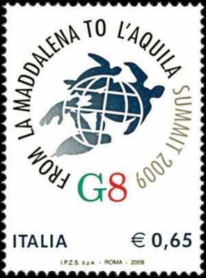 Vertice dei G8 da La Maddalena a L'Aquila