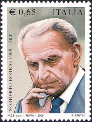 Centenario della nascita di Norberto Bobbio - filosofo, storico e politologo