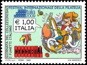 Festival Internazionale della filatelia « Italia 2009» - Giornata del Collezionismo - Cocco Bill