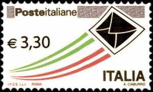 «Posta Italiana» - Serie ordinaria - 3,30 €