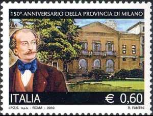«Le Istituzioni» - 150º Anniversario della Provincia di Milano - Massimo d'Azeglio e palazzo Isimbardi