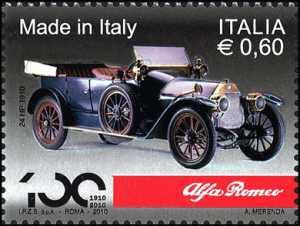 «Made in Italy» -Alfa Romeo - Alfa Romeo 24 HP, vettura del 1910