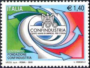 100º Anniversario della fondazione di Confindustria