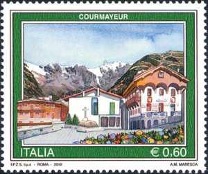 Turistica - 37ª serie - Courmayeur ( AO )