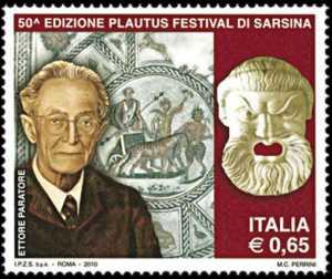 50ª Edizione del Plautus festival di Sarsina e 10° anniversario della scomparsa del latinista Ettore Paratore