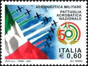 50° Anniversario della Pattuglia Acrobatica Nazionale dell'Aeronautica Militare