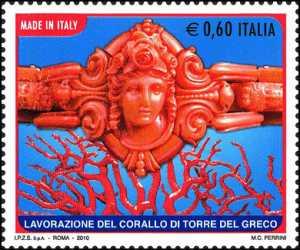 «Made in Italy» - Corallo di Torre del Greco - bracciale