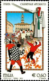 Folclore italiano - Carnevale di Ivrea