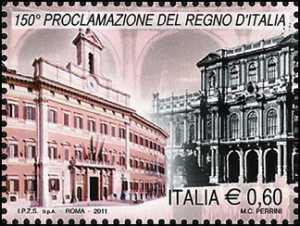 150º anniversario della proclamazione del regno d'Italia