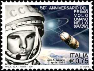 50° anniversario del primo volo umano nello spazio