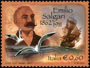 Centenario della morte di Emilio Salgari