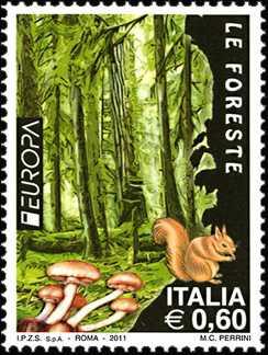 Europa - 56ª  serie - Foreste
