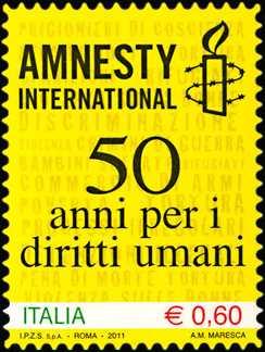50º anniversario di Amnesty international