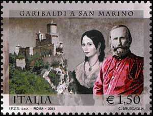 150º anniversario del conferimento della cittadinanza onoraria sammarinese a Giuseppe Garibaldi