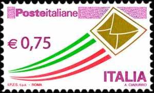 Serie ordinaria - Posta Italiana - 2011