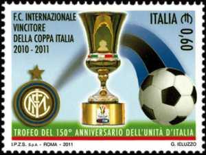 Sport italiano - Inter  vincitore della Coppa Italia  2010-2011