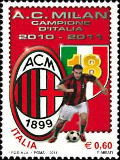 Sport italiano - Milan vincitore del Campionato di calcio 2010-2011