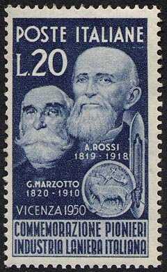 Gaetano Marzotto e Alessandro Rossi