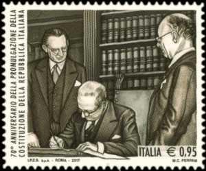 70° Anniversario della promulgazione della Costituzione della Repubblica Italiana