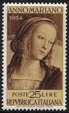 """Anno Mariano - """"Madonna"""" del Perugino"""