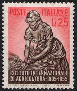 Cinquantenario dell'Istituto Internazionale dell'Agricoltura - L. 25