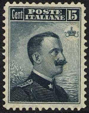 1906 - Effige di Vittorio Emanuele III - volta a destra
