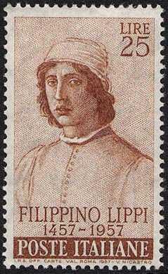 5° Centenario della nascita di Filippo Lippi - autoritratto