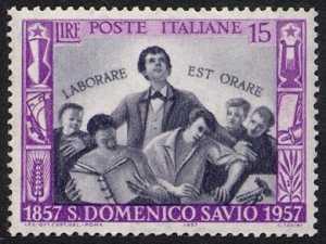 Centenario della morte di San Domenici Savio - L. 15