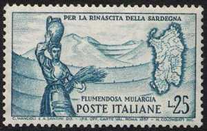 Impianti idroelettrici del Flumendosa in Sardegna - L. 25