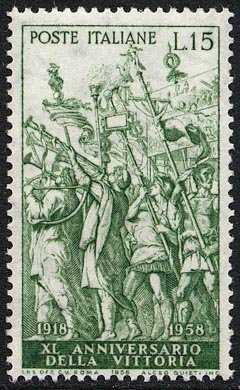40° Anniversario della Vittoria nella 1a Guerra Mondiale - Trionfo di Cesare
