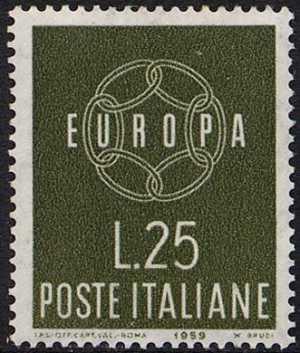 Europa - 4ª  serie - L. 25