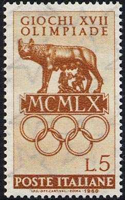 Giochi della XVII Olimpiade - Roma - Lupa Capitolina