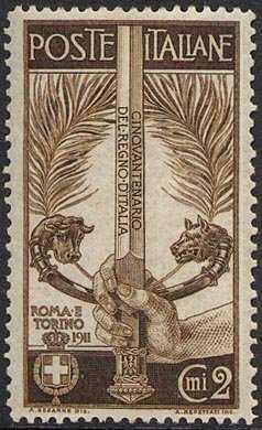 1911 - Cinquantenario dell'Unità d'Italia - Esposizione di Roma e Torino
