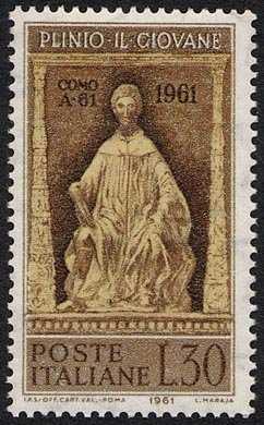 19° Centenario della nascita di Plinio il Giovane - scrittore romano