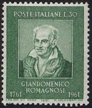 Bicentenario della nascita di Giandomenico Romagnosi - ritratto