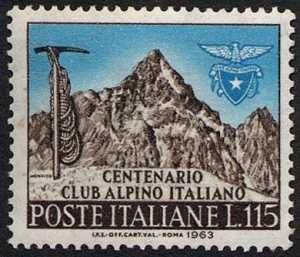 Centenario della fondazione del Club Alpino Italiano - il Monviso