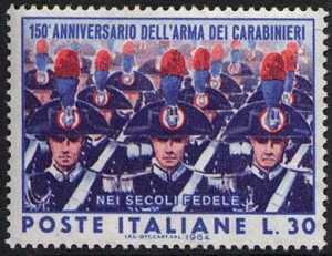150° Anniverario dell'Arma dei Carabinieri - reparto di Carabinieri