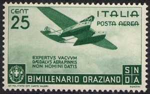 Posta aerea - Bimillenario della nascita di Orazio