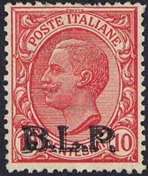 1923 - B.L.P. - Regno - Francobolli del 1901 / 19 con soprastampa modificata